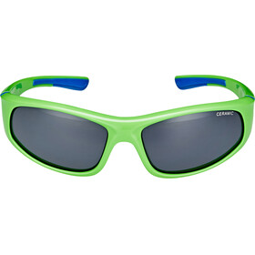Alpina Flexxy Glasses Junior neon green-blue